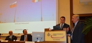Convegno CamComFe Ospite d'onore Il sindaco di Yalta Andrej Rostenko