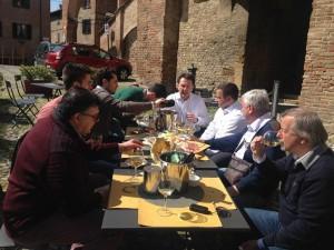 pranzo Castell'Arquato