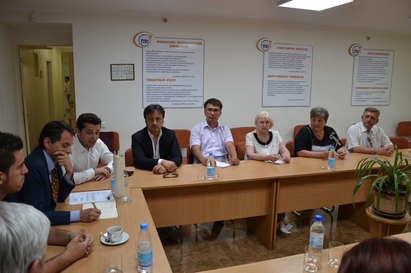 Missione in crimea incontri con gli imprenditori alla for Camera di commercio della romagna