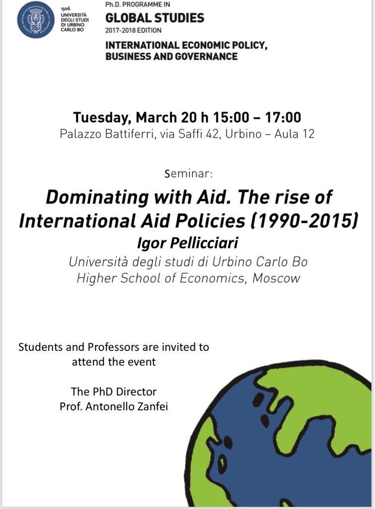 Seminario Urbino Prof Pellicciari