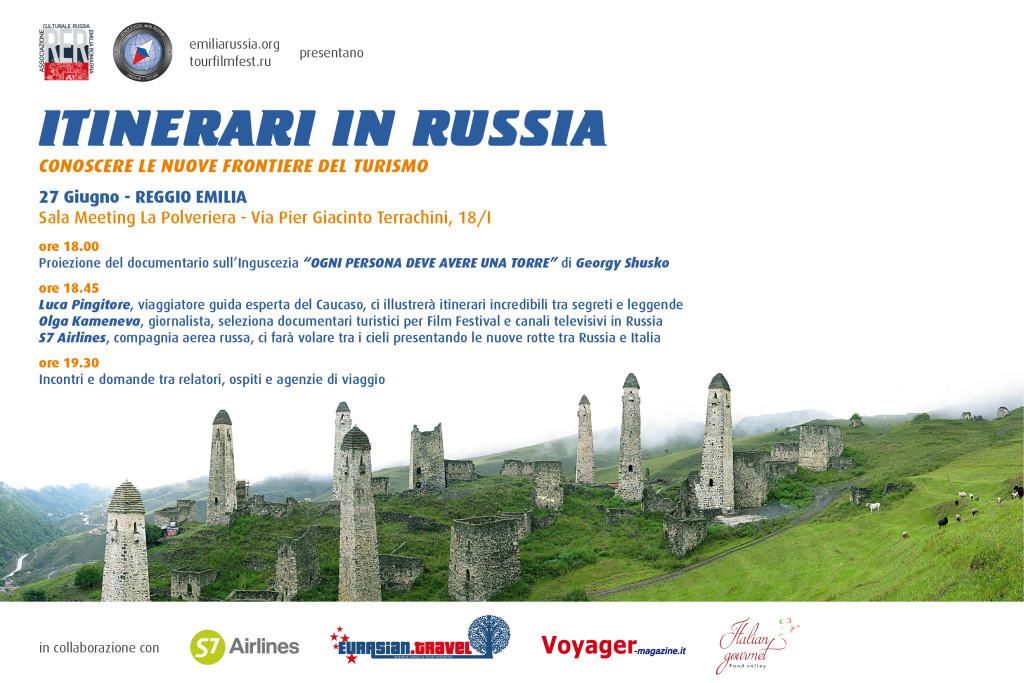 Invito_Itinerari in Russia 27 Giugno